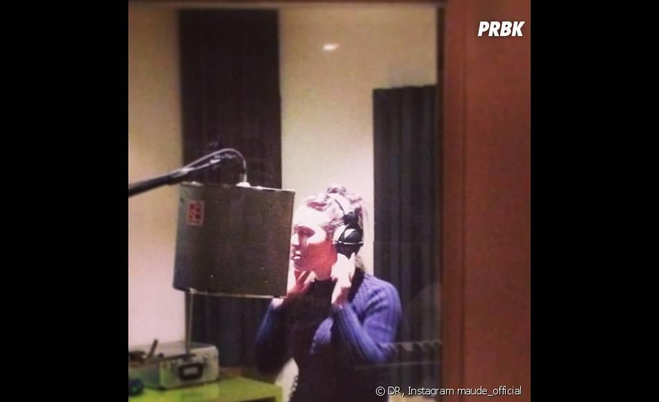 Les Anges de la télé-réalité 5 : Maude en studio