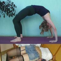 [PHOTOS] Bourré ou position de yoga ? La ressemblance est parfois troublante