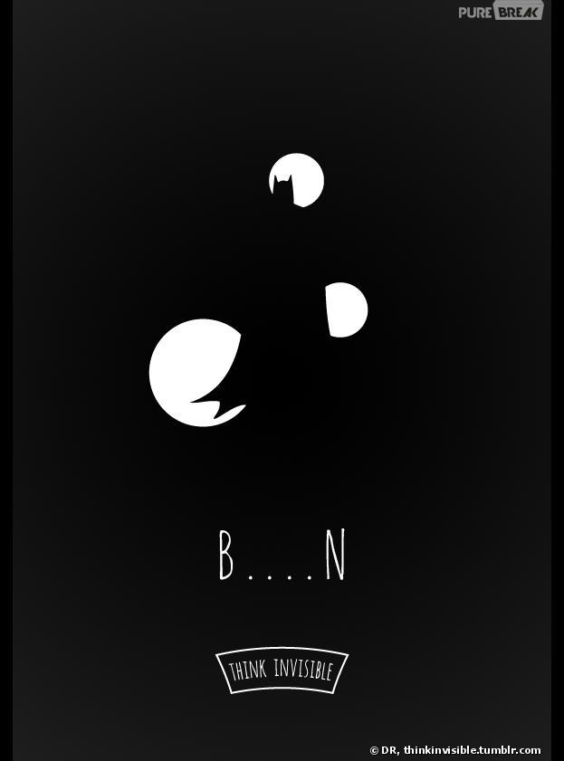 D'incroyables affiches minimalistes sur Think Invisible