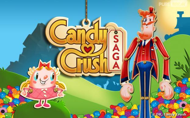 "Candy Crush Saga : King protège le mot ""Candy"""