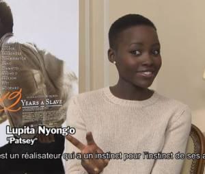 Lupita Nyong'o et l'équipe du film 12 Years A Slave en interview