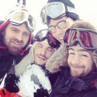 La Ferme Jérôme, Baptiste Lorber et Gaël : Vine et photos Instagram au ski
