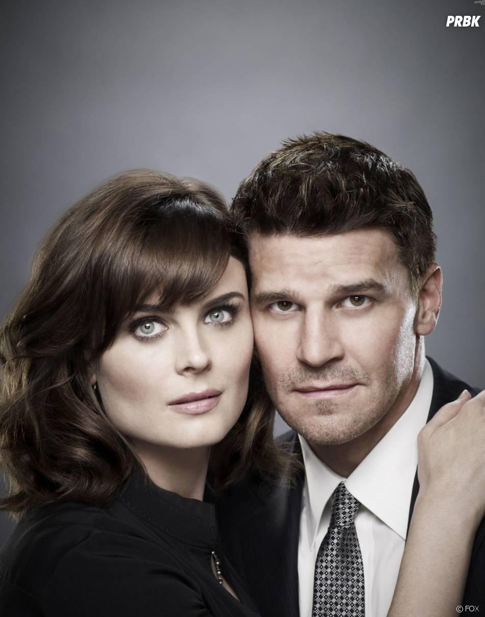 Bones saison 9 : David Boreanaz et Emily Deschanel sur une photo