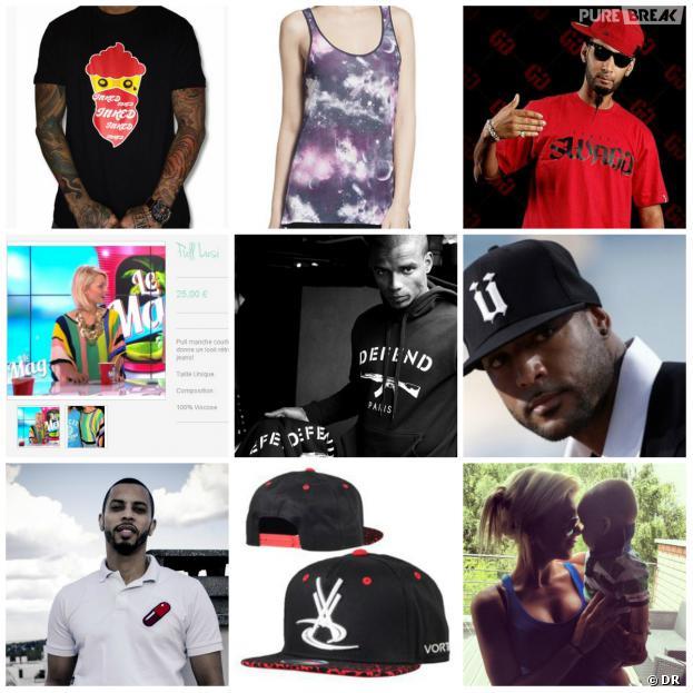 Ünkut, Street Swagg, Galvanized, Baby H, Vortex... la liste des stars qui détiennent leur marque de vêtements est longue