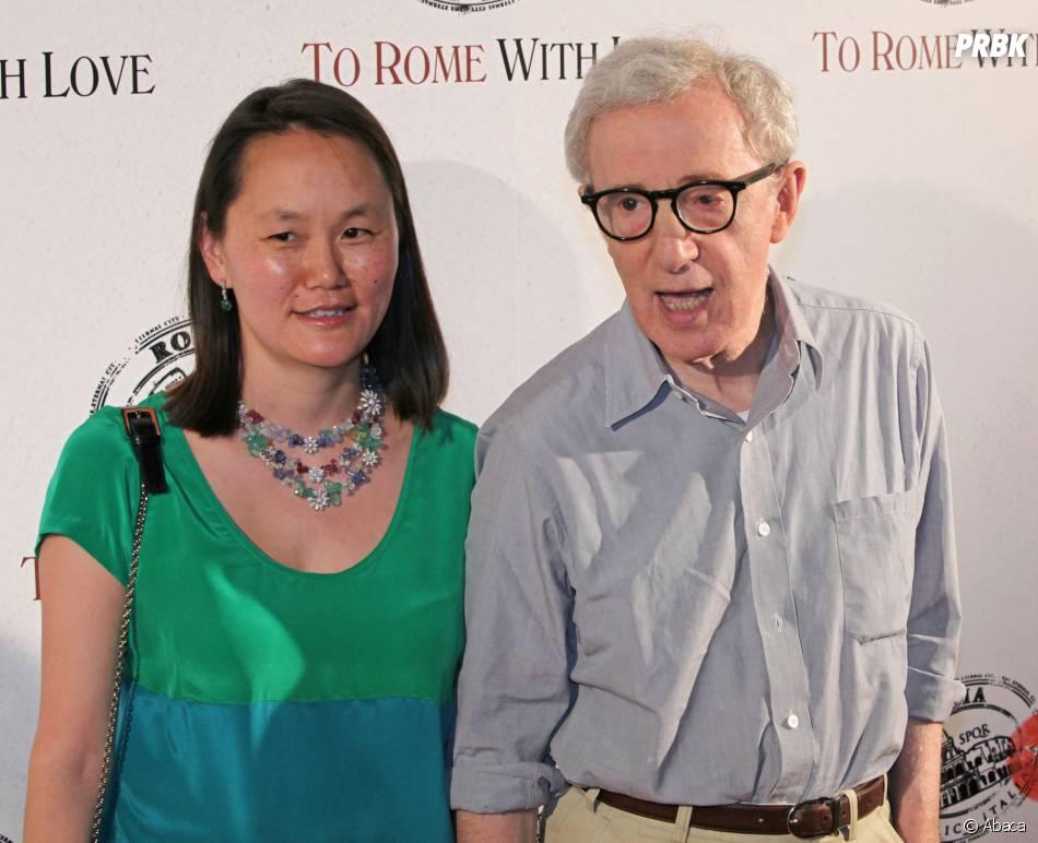 """Woody Allen et sa femme, fille adoptive de Mia Farrow, à l'avant-première de """"To Rome With Love"""""""