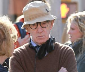 Woody Allen en plein tournage à New York, le 19 septembre 2012