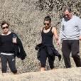 Lea Michele et ses parents dans les montagnes de Los Angeles, le 3 février 2014