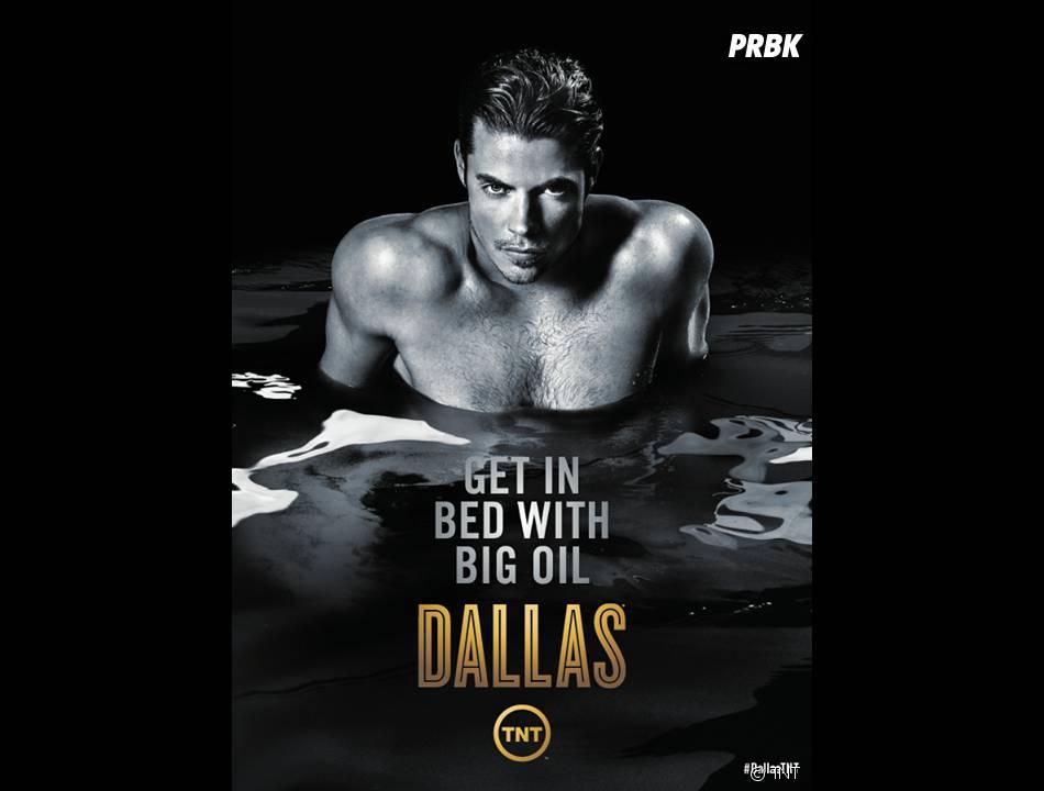 Dallas saison 3 : poster avec Josh Henderson