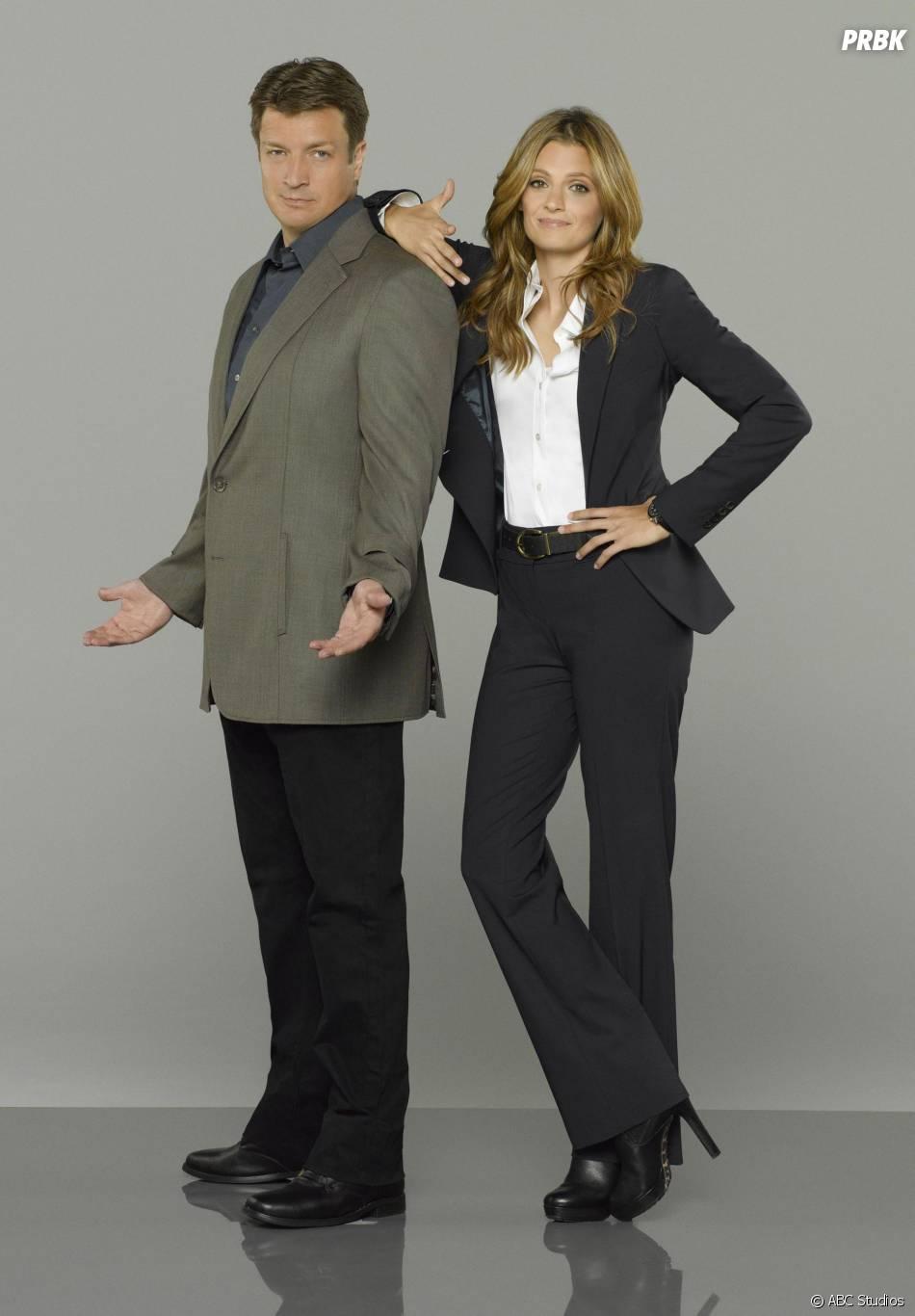 Castle saison 6 : Nathan Fillion et Stana Katic sur une nouvelle photo promo