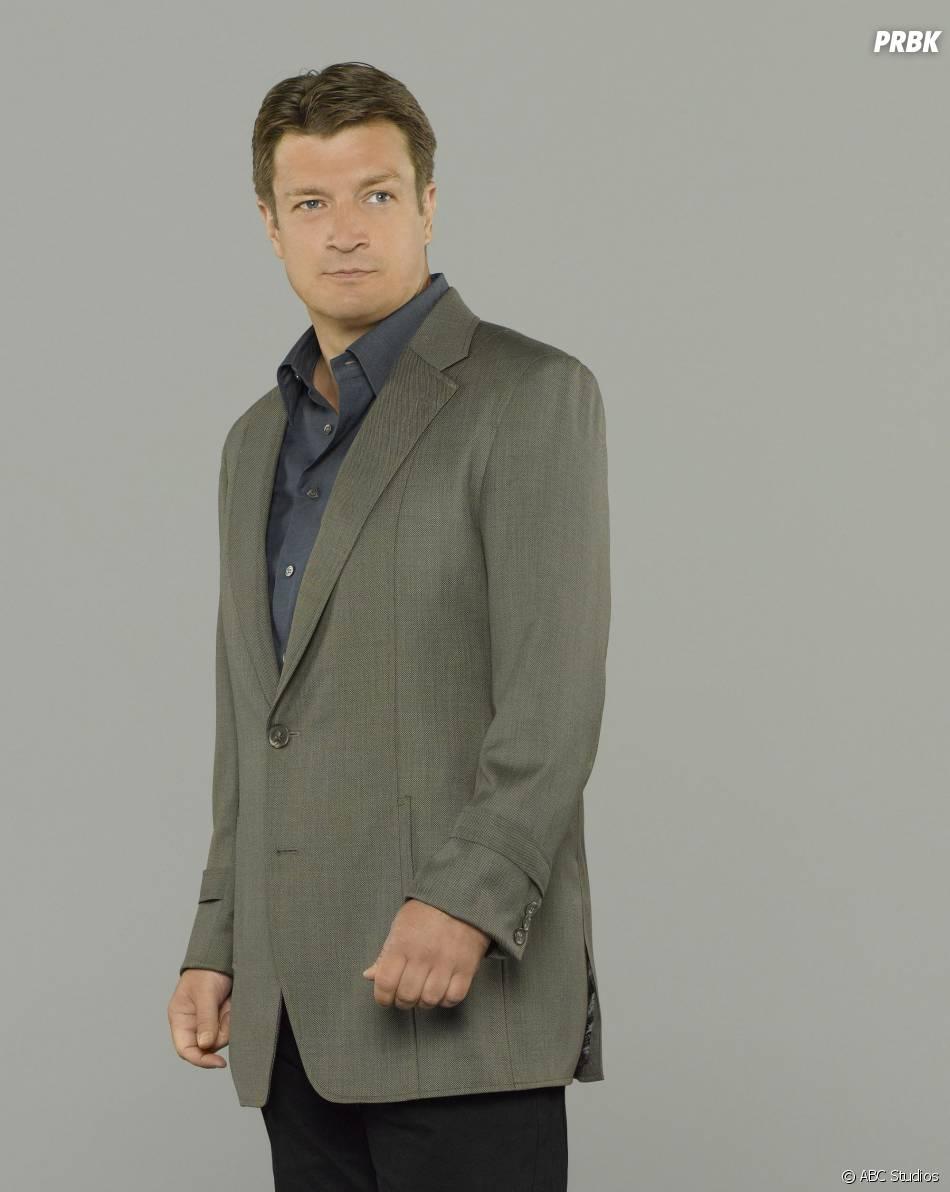 Castle saison 6 : Nathan Fillion sur une nouvelle photo
