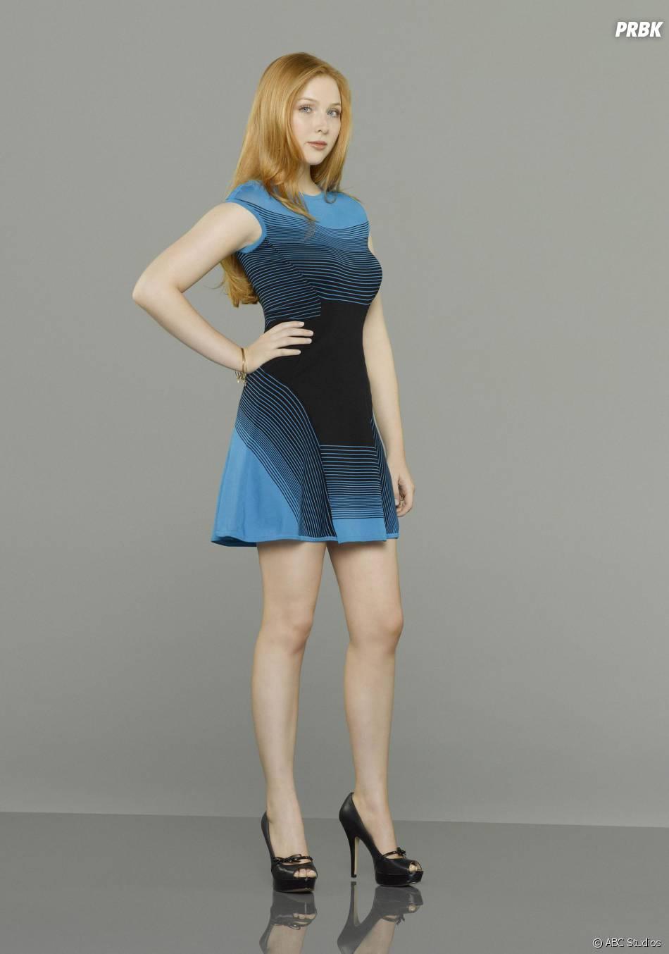 Castle saison 6 : Molly Quinn sur une nouvelle photo