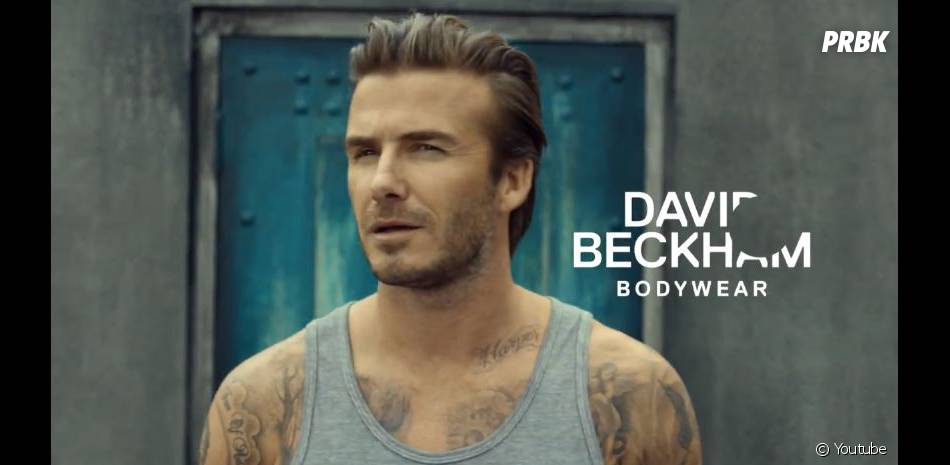 David Beckham, égérie des sous-vêtements H&M