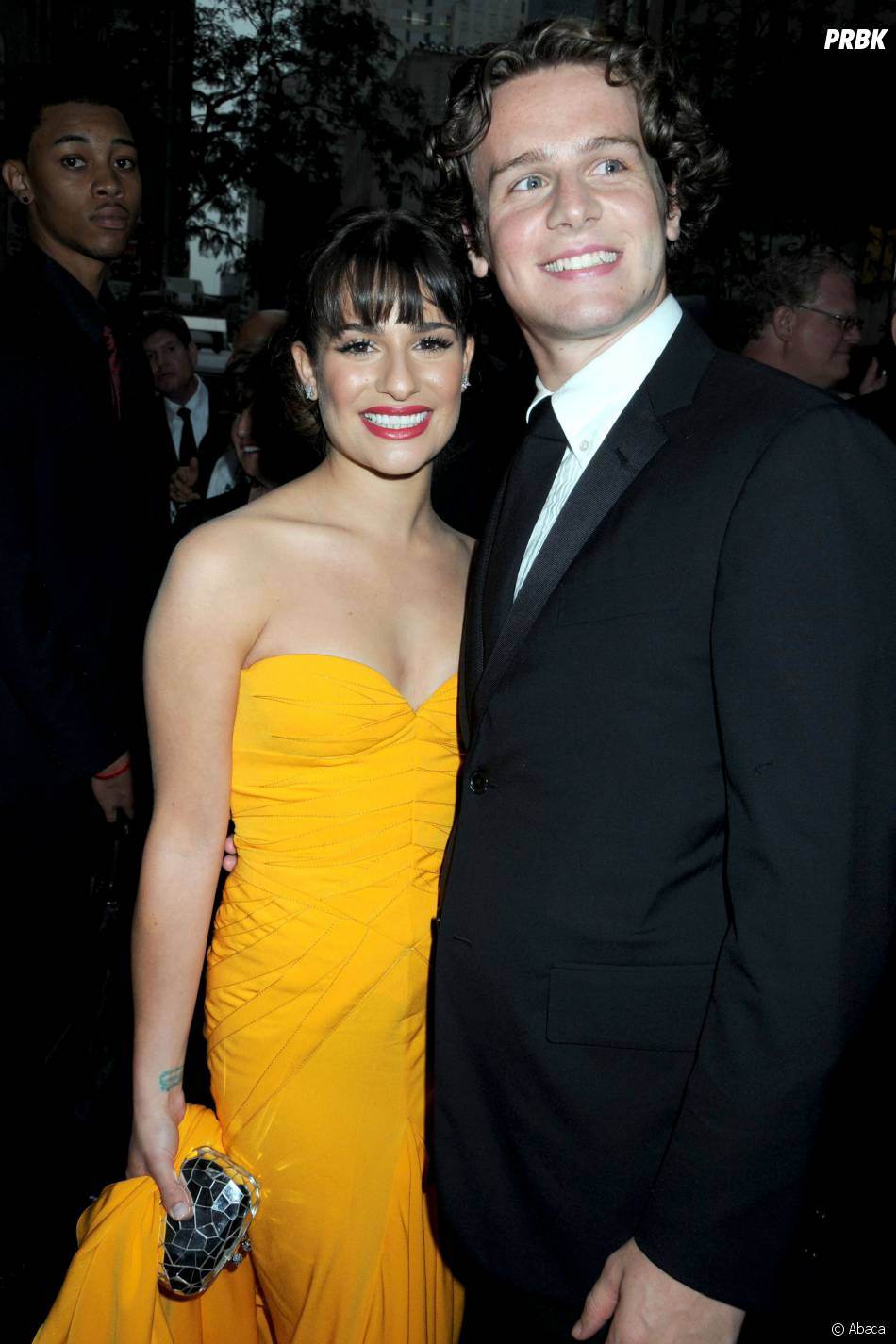 Jonathan Groff et Lea Michele aux Tony Awards 2010