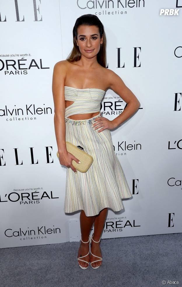 Lea Michele : après la mort de Cory Monteith, un petit-ami en 2014 ?