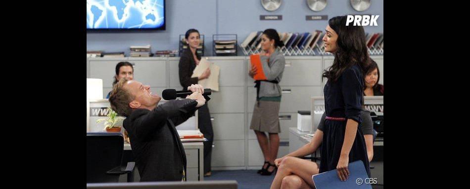 Nazanin Boniadi dans How I Met Your Mother avec Neil Patrick Harris