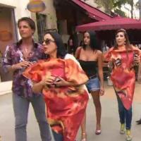 Giuseppe Ristorante : Marie-France déguisée... en part de pizza