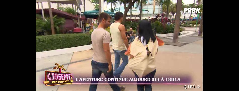 Giuseppe Ristorante : Marie France en pizza à Miami