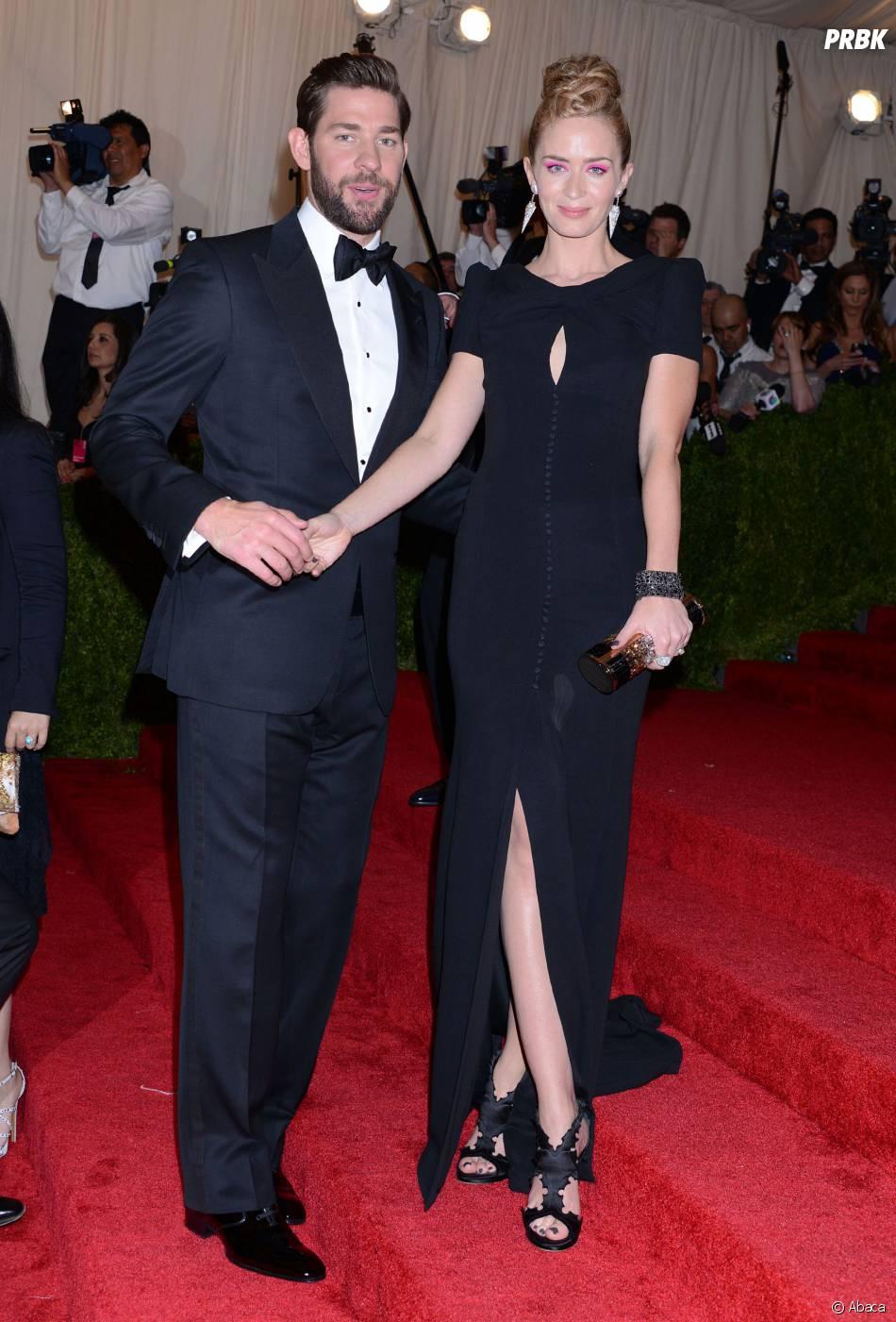 Emily Blunt et l'acteur de The Office John Krasinski parents pour la première fois