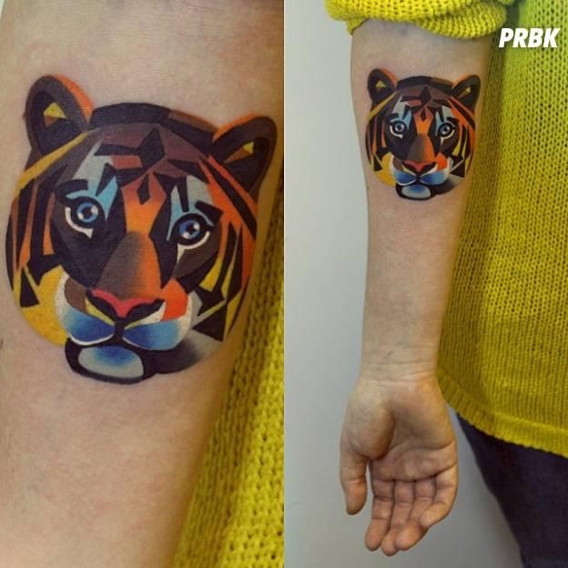Fun voici les 15 plus beaux tatouages d 39 animaux en couleur - Signification animaux tatouage ...