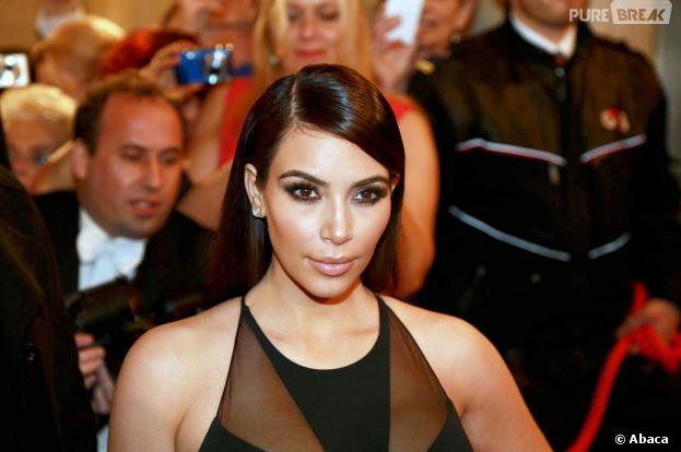 Kim Kardashian au bal de l'Opéra de Vienne en Autriche, le 27 février 2014