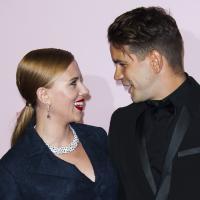 Scarlett Johansson et Romain Dauriac : couple complice aux César 2014