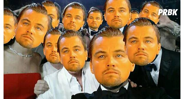 DiCaprio selfie des Oscars 2014