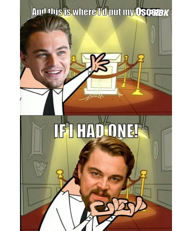 DiCaprio Oscar si j'en avais un