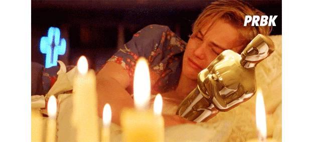 pleurs DiCaprio oscars