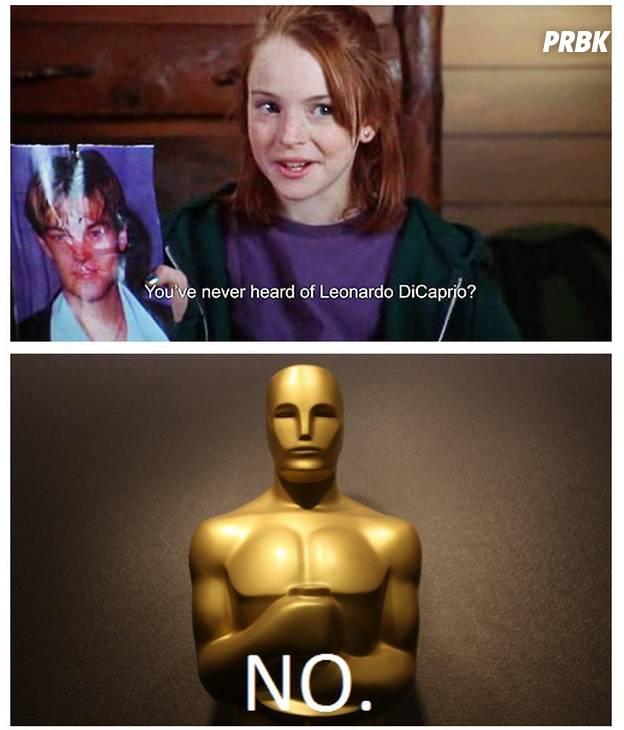 oscars never heard of DiCaprio