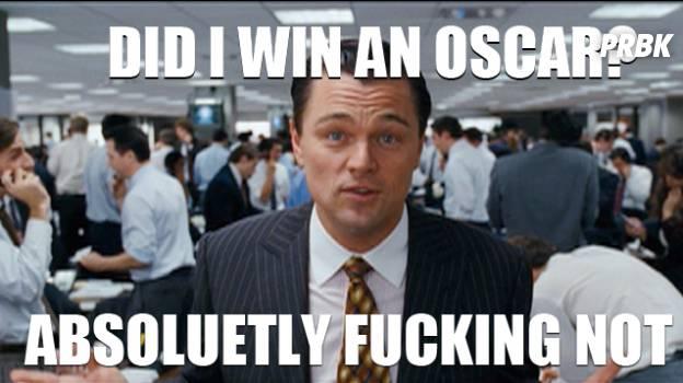 did i win an oscar ?
