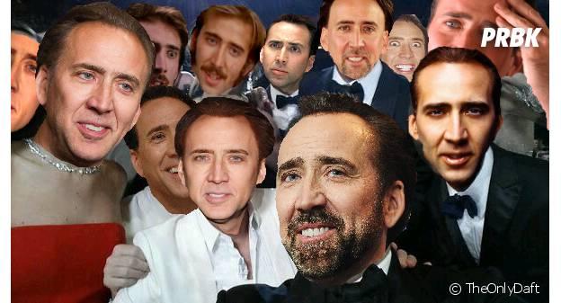 Le Selfie des Oscars en mode Nicolas Cage