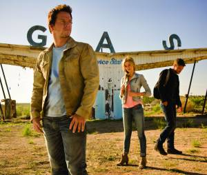 Nicola Peltz et Mark Wahlberg dansTransformers : l'âge d'extinction