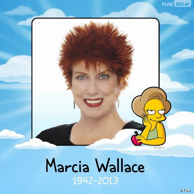 Les Simpson ont rendu un dernier hommage à Marcia Wallace