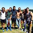 Shy'm et ses amis sexy en vacances en Afrique du Sud, en mars 2014