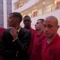 Stromae : Ta fête, la leçon 28 avec les Diables Rouges de Belgique