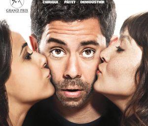 Situation amoureuse, c'est compliqué : affiche du film avec Manu Payet, Anaïs Demoustier et Emmanuelle Chriqui