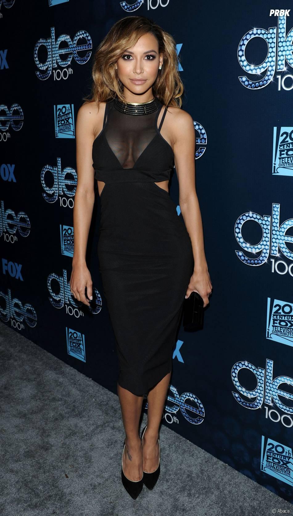 Naya Rivera : au Chateau Marmont pour fêter le 100ème épisode de Glee, le 18 mars 2014