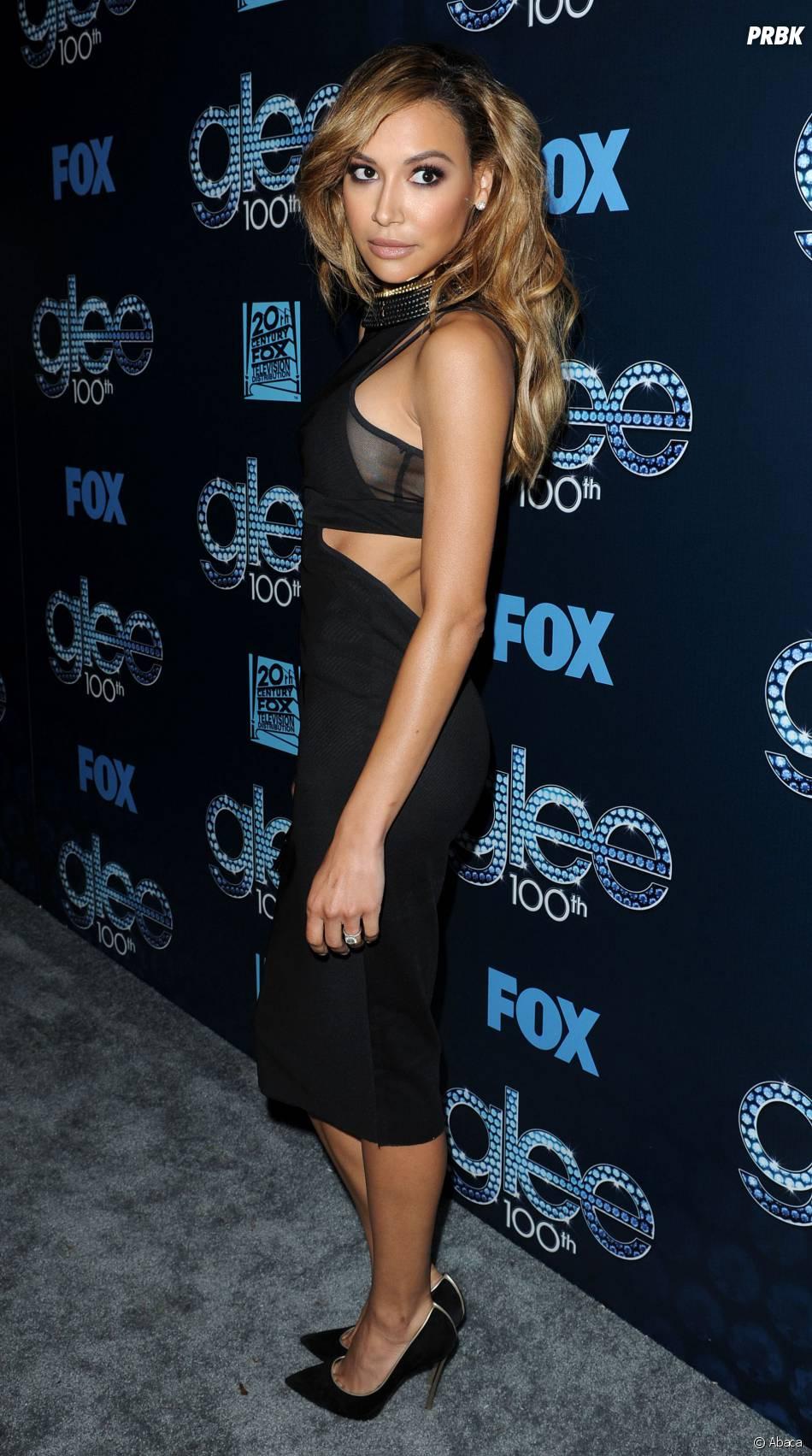 Naya Rivera sexy au Chateau Marmont pour fêter le 100ème épisode de Glee, le 18 mars 2014