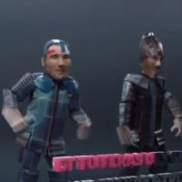 Casseurs Flowters : Fais les backs, le clip d'Orelsan & Gringe version jeu vidéo