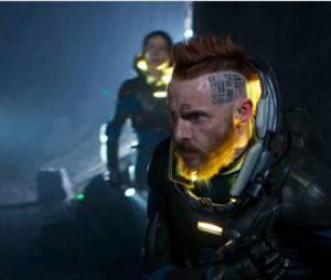 Prometheus : Sean Harris devant la caméra de Ridley Scott