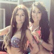 Anaïs Camizuli et Shanna (Les Anges 6) sexy en bikini sur Twitter