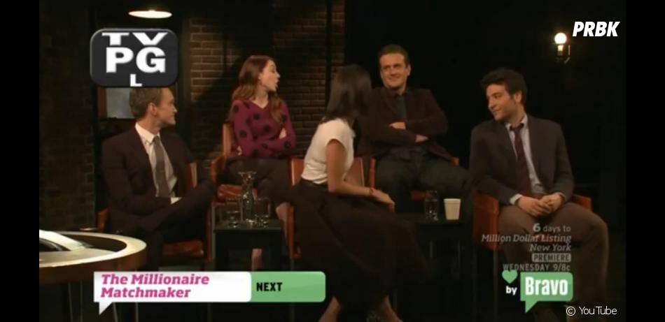 Neil Patrick Harris et Jason Segel s'amusent sur le plateau d'Inside The Actors Studio