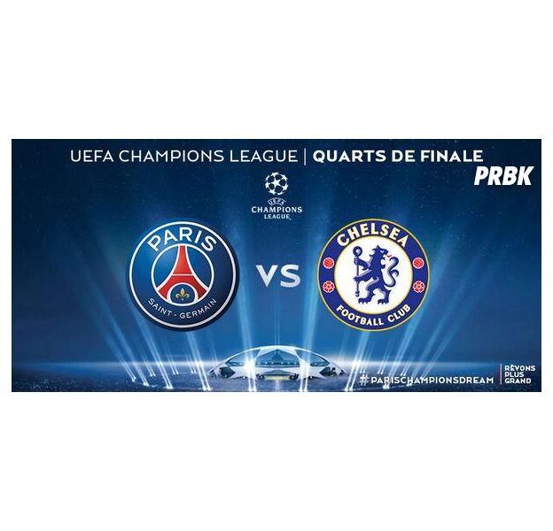 PSG VS Chelsea : quart de finale aller de la Ligue des Champions, le 2 avril 2014
