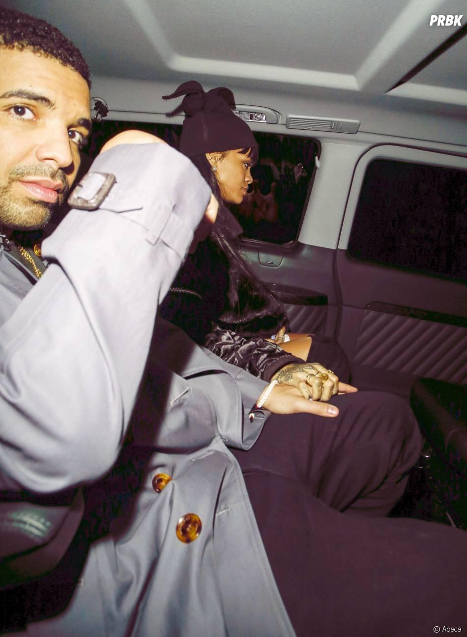 Rihanna et Drake pris en flagrant délit, main dans la main