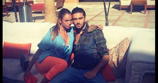 julien les anges 6 et vanessa lawrens en couple pour des vacances au maroc. Black Bedroom Furniture Sets. Home Design Ideas