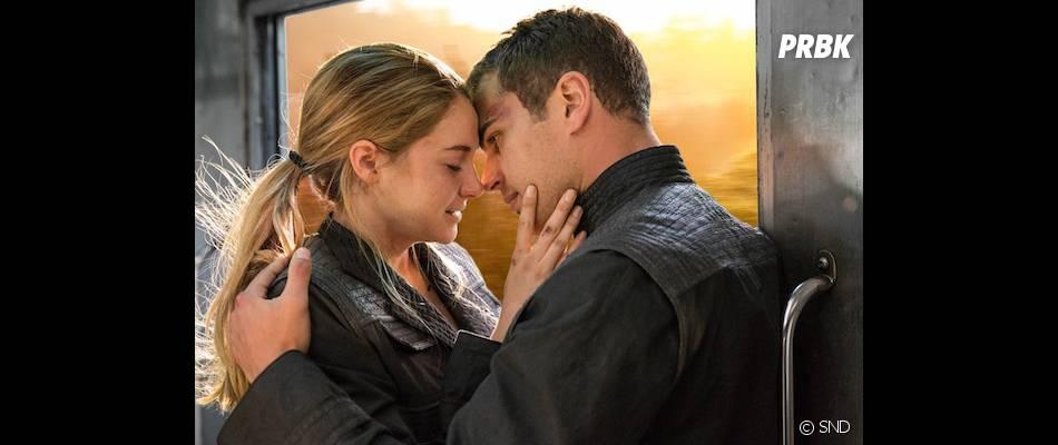 Divergente : un rapprochement physique entre Tris et Quatre ?