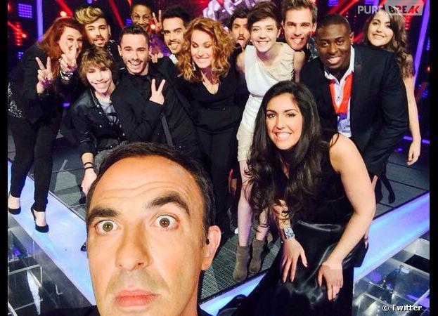 Nikod Aliagas, Flo, Lioan, Maximilien, Elodie, Wesley... pluie de selfies pour les candidats de The Voice 3