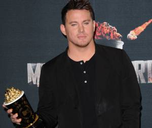 Channing Tatum remporte le Trailblazer Award aux MTV Movie Awards 2014 le 13 avril 2014