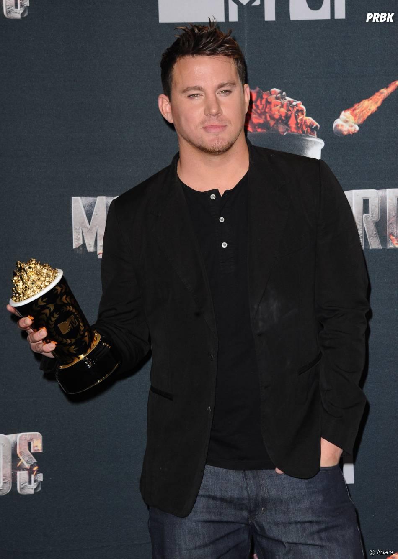 Channing Tatum remporte le Trailblazer Award aux MTV Movie Awards 2014 le 13 avril 2014