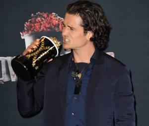 Orlando Bloom remporte le prix de meilleure bagarre aux MTV Movie Awards 2014 le 13 avril 2014